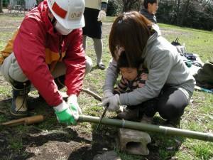 竹スコップ作り s